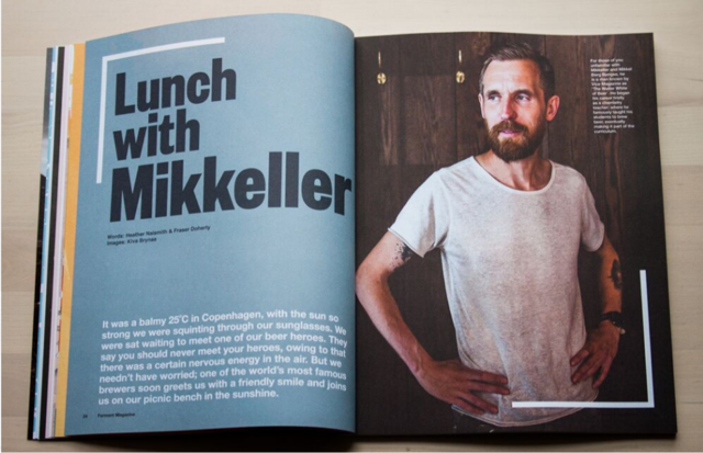 FERMENT Lunch with Mikkeller